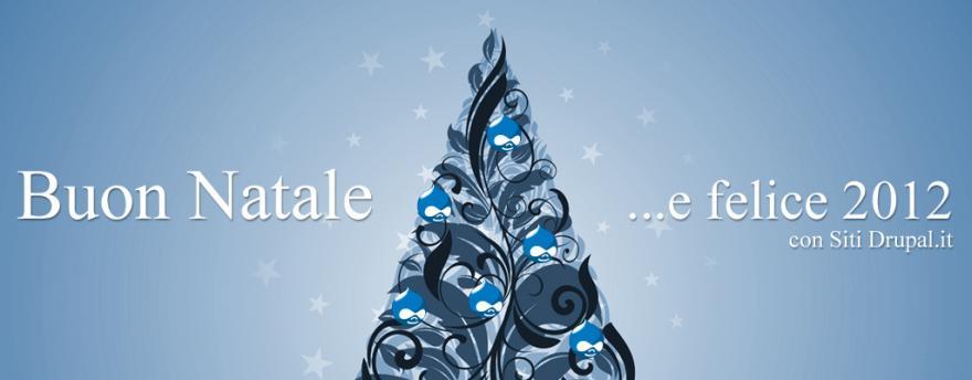 Festeggiamo il Natale con Drupal!
