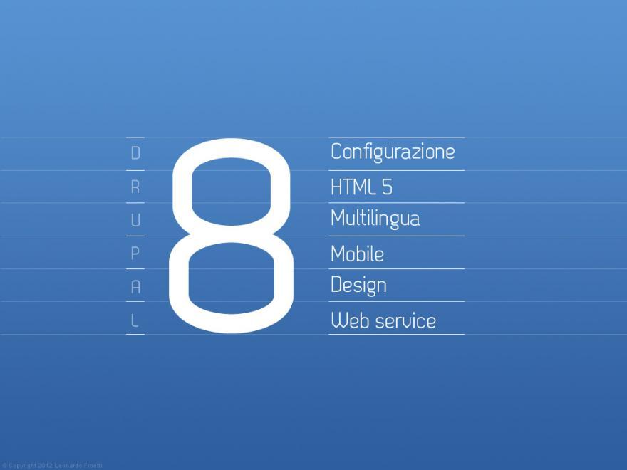 Iniziative Drupal 8