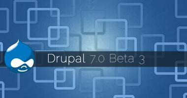 Drupal 7.0 Beta 3