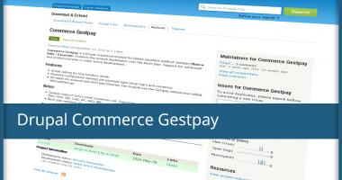 Modulo per Drupal Commerce - Commerce Gestpay