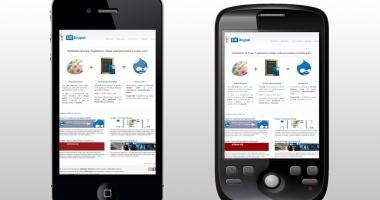 Temi per Drupal ottimizzati per iPhone e Android