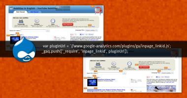 Codice per rilevare i click nelle pagine con Google Analytics per Drupal
